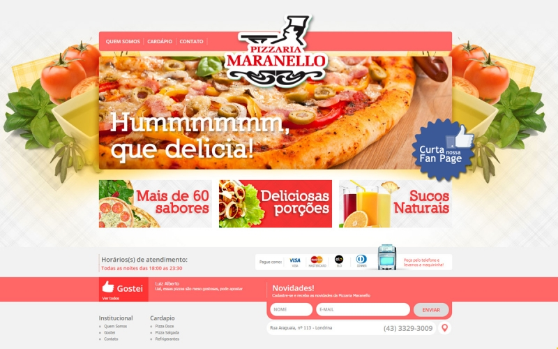 Pizzaria Maranello Site