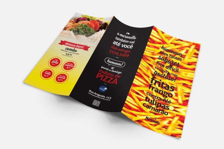 Cardápio Pizzaria Maranello Porções